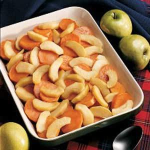 Maple Glazed Sweet Potatoes image