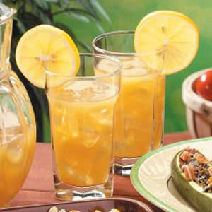 Citrus Iced Tea with Mint