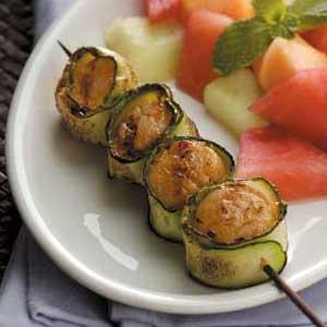 Zucchini-Wrapped Scallops image