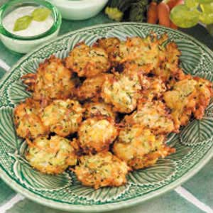 Carrot Zucchini Fritters image