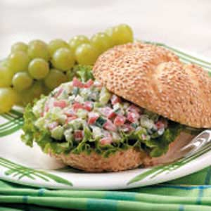 Crunchy Veggie Sandwiches image