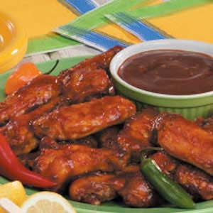 Barbecue Chicken Wings image