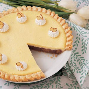 Cream Cheese Rhubarb Pie