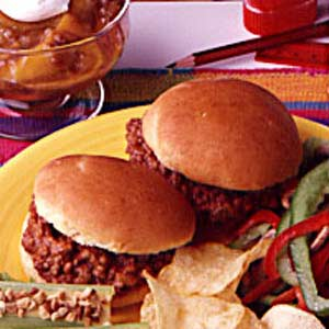 Barbecue Beef Sandwiches image