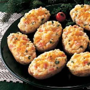 Crab-Stuffed Potatoes image