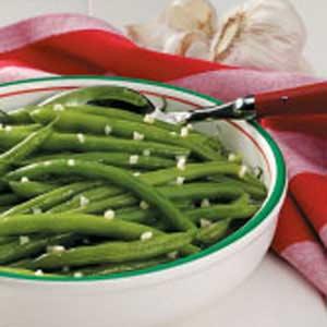 Quick Garlic Green Beans image