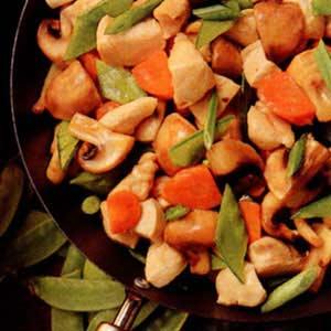 Chicken Mushroom Stir-Fry