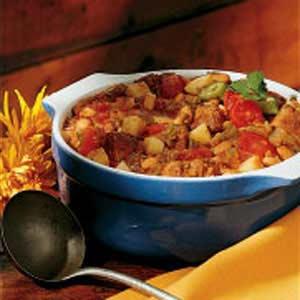 Contest-Winning Green Chili Pork Stew