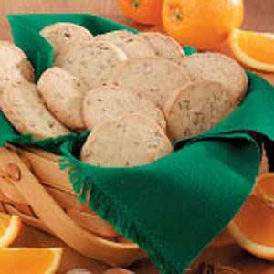 Orange-Pecan Icebox Cookies image