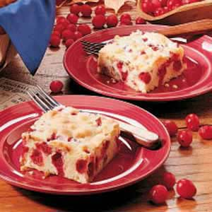 Tart Cranberry Cake image