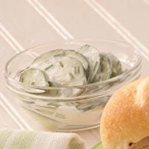 Cucumbers in Sour Cream image