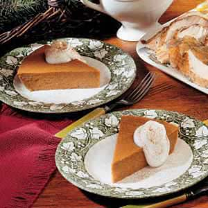 Crustless Pumpkin Pie image