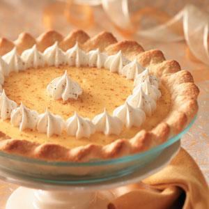 Christmas Eggnog Pie image