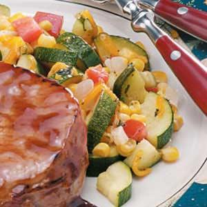 Corn Zucchini Saute image