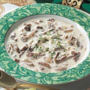 Marvelous Mushroom Soup image