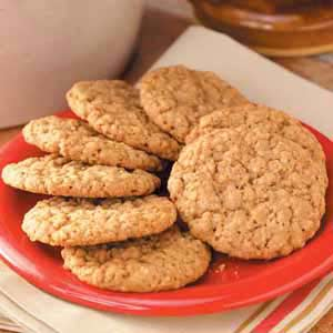 Oatmeal Cinnamon Cookies image