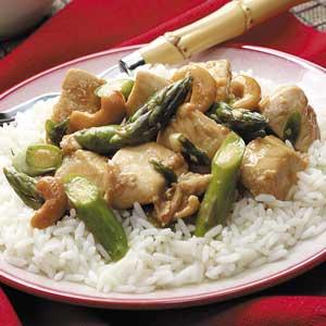 Asparagus Chicken Stir-Fry