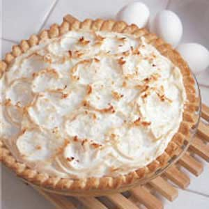 Old-Fashioned Coconut Pie_image