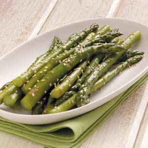 Asparagus with Sesame Seeds image