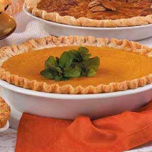 Eggnog Pumpkin Pie image