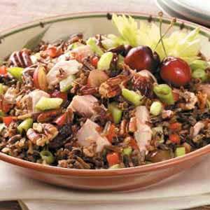 Turkey Wild Rice Salad