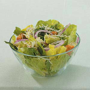 Lemon Garlic Caesar Salad