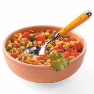 Basic Black-Eyed Pea Salsa