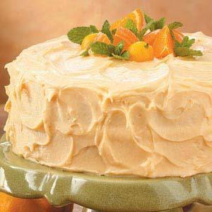 Sunny Orange Layer Cake image