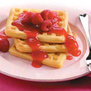 Easy Raspberry Sauce image