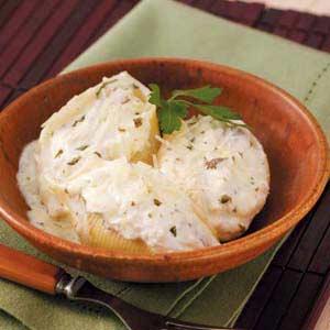 Chicken-Ricotta Stuffed Shells image