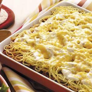 Spaghetti Casserole image