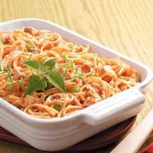 Spaghetti Chicken Bake image