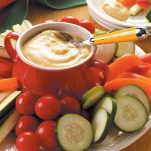 Curried Vegetable Dip image