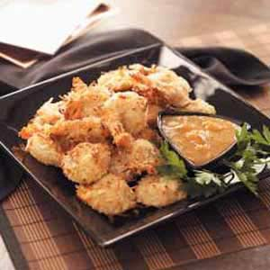 Coconut Shrimp with Dipping Sauce image