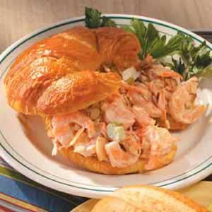 Shrimp Salad Croissants