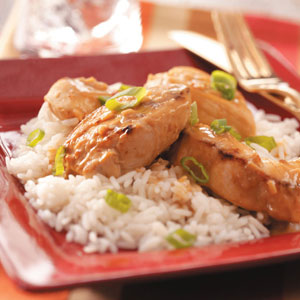 Chicken with Peanut Sauce image