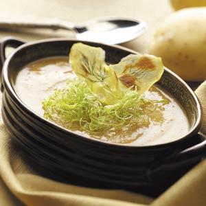 Dilled Potato-Leek Soup image