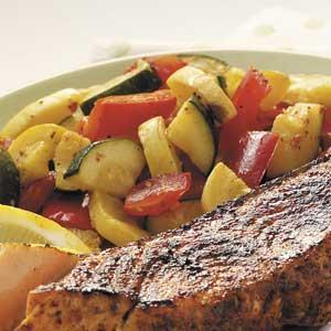 Summer Squash and Zucchini Side Dish image