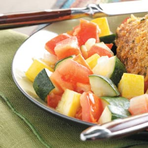Tomato Zucchini Saute image