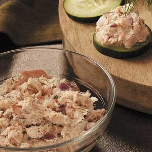 Smoked Trout Cucumber Canapes_image