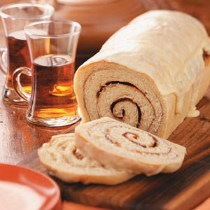 Cinnamon Swirl Orange Bread image
