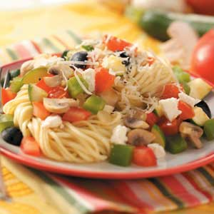 Mediterranean Vegetable Pasta image