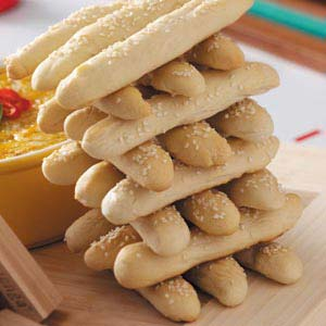 Breadsticks Jenga