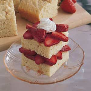 Homemade Strawberry Shortcake image
