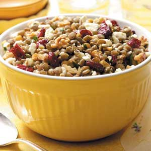 Feta-Cranberry Lentil Salad image