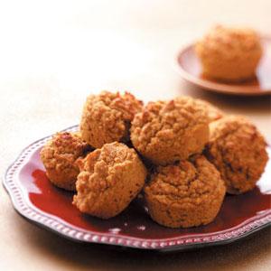 Pumpkin Oat Bran Muffins image