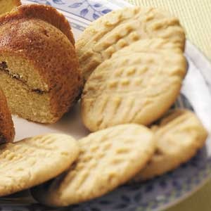 Crisp and Chewy Peanut Butter Cookies image