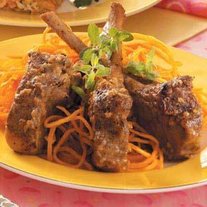 Rosemary-Rubbed Lamb Chops
