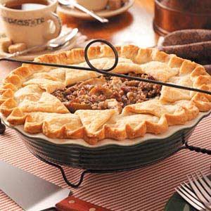 Pear Praline Pie