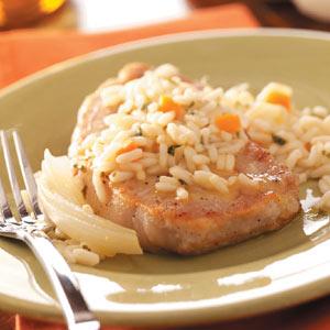 Old-Fashioned Pork Chops